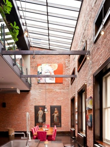 loft-mansion-brick-wall-dining-space-6-600x800