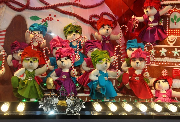 'Printemps' Christmas decorations inauguration