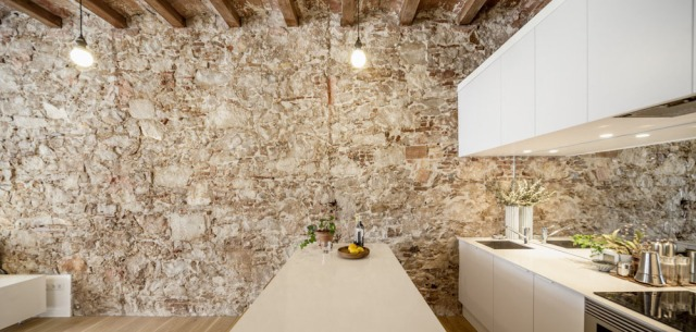 Les-Corts-Stone-Wall-Apartment_8