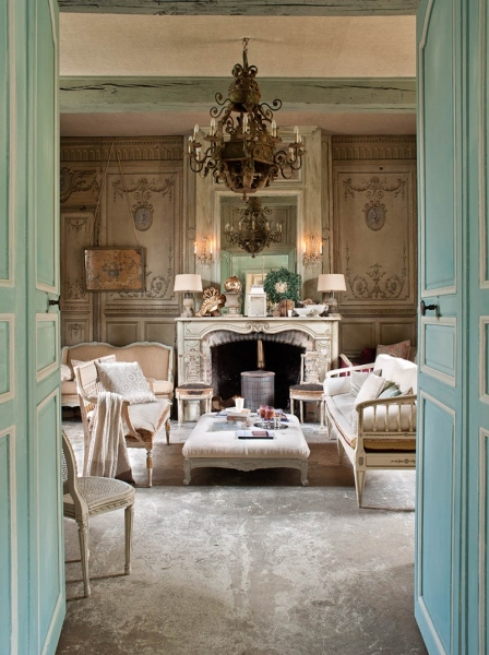 Shabby chic nuno almeida for Interieur in french