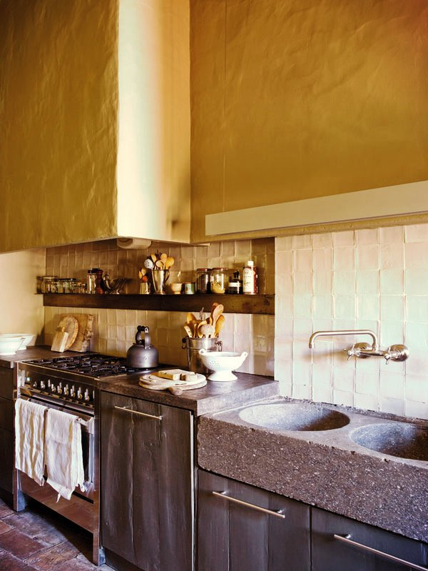Casa com alma nuno almeida - Cocinas de pueblo ...