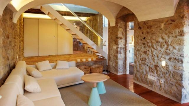Moderna casa de pedra nuno almeida - Casas de campo restauradas ...